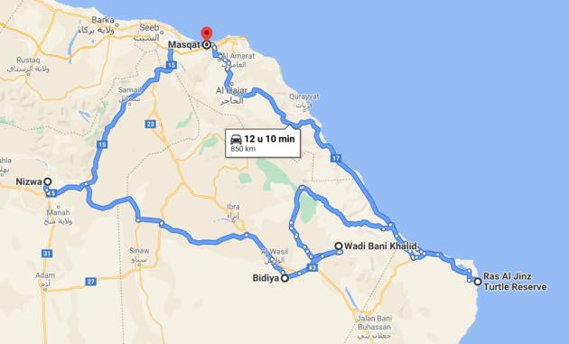 route-rondreis-oman