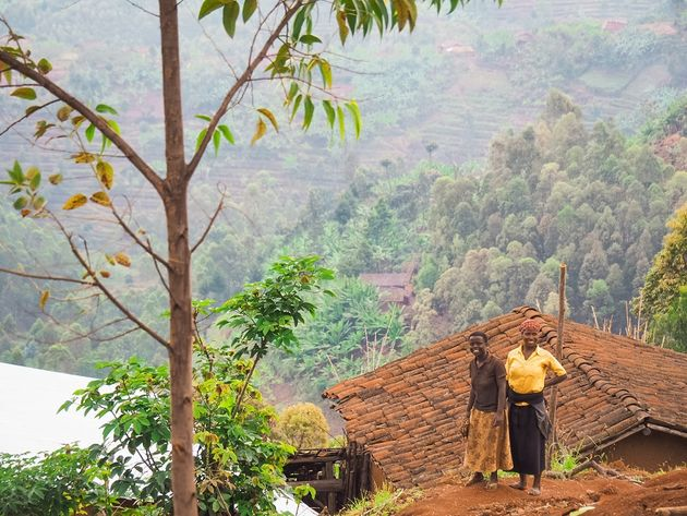 Rwanda langs de weg