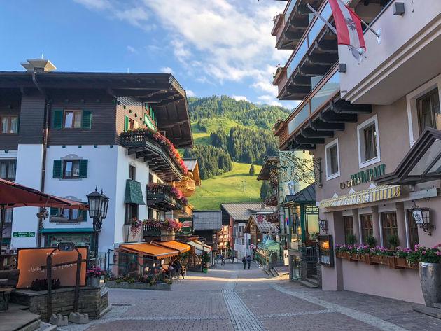 saalbach-dorp-zomer