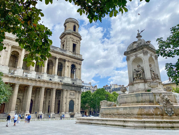 Saint-Germain-des-Prés-parijs.