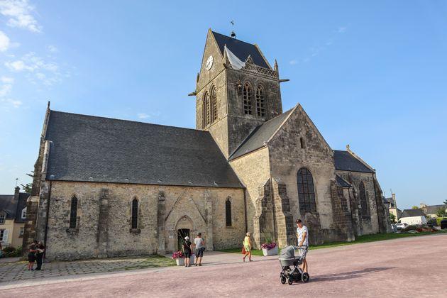 Saint-mere-Eglese-Kerk