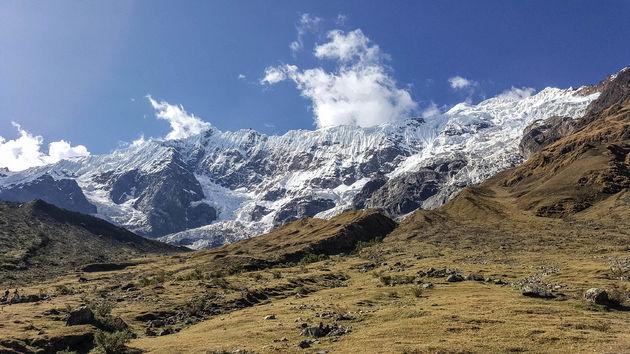 Salkantay-Trek-gletsjer