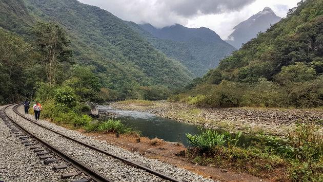 Salkantay-Trek-spoorlijn