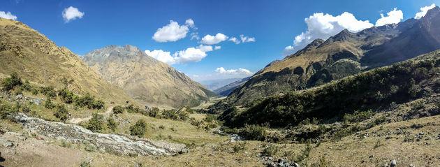 Salkantay-Trek-uitzicht