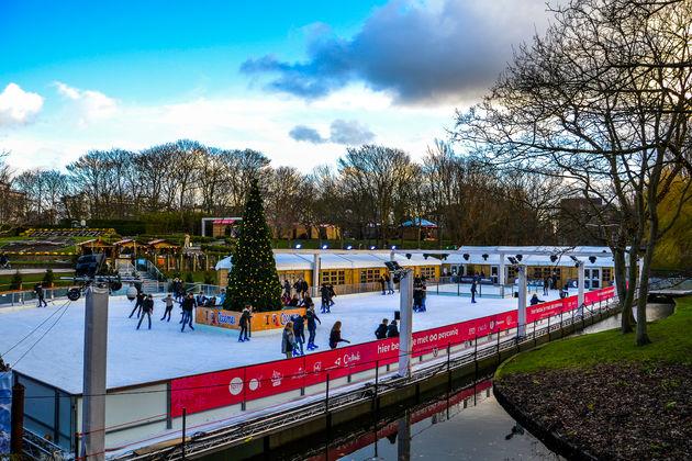 schaatsbaan-Oostende