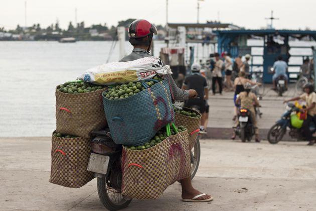scooter-groente