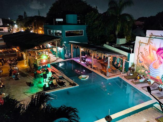 Selina Cancun Downtown live muziek
