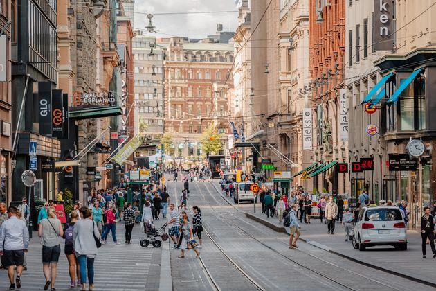 Shoppen in Helsinki