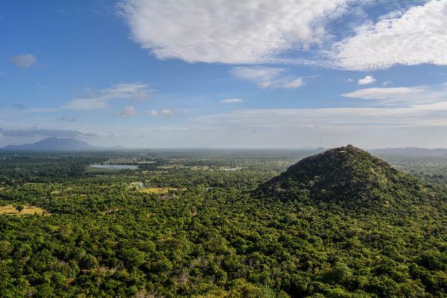 Sigiriya-uitzicht