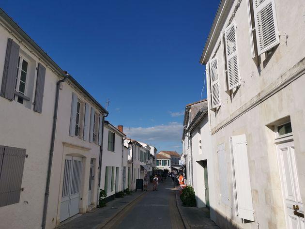 Smalle straatjes Île de Ré