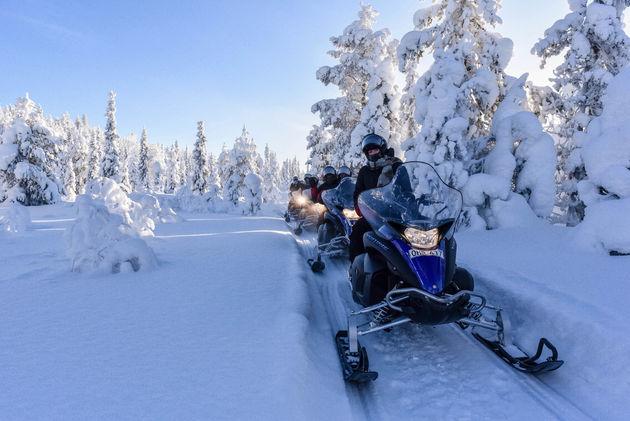 sneeuwscooteren-lapland