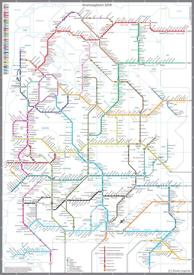 snelwegkaart-nederland