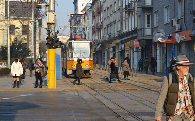 Sofia-bulgarije-straat