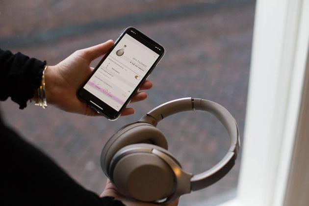 sony-koptelefoon-app