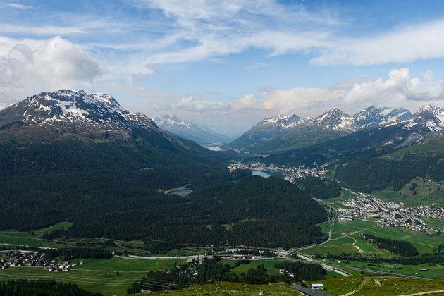 St.Moritz-zwitserland