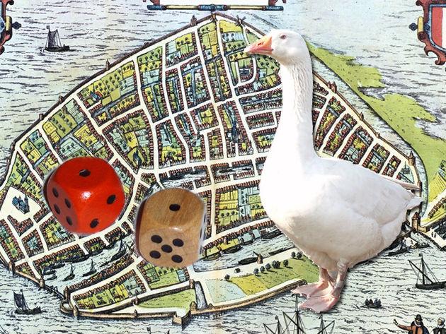 Stadsganzenbord-Dordrecht