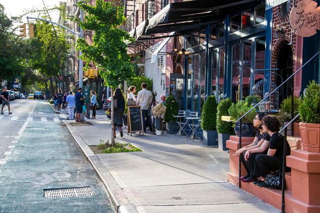 Straatbeeld-NY