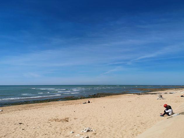 Stranden Île de Ré .