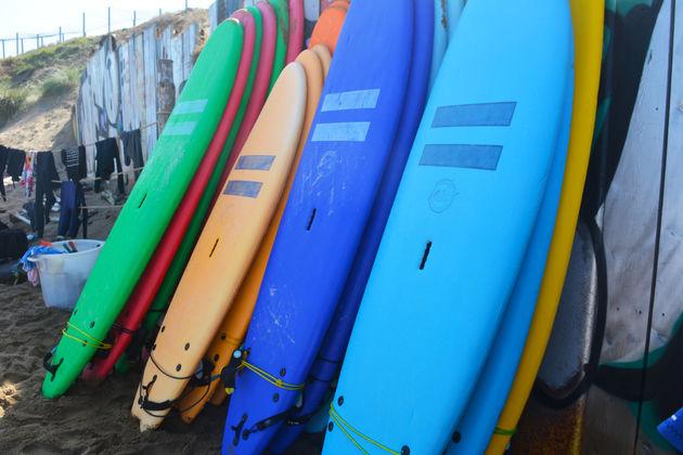 surfen-Zarautz-surfplanken