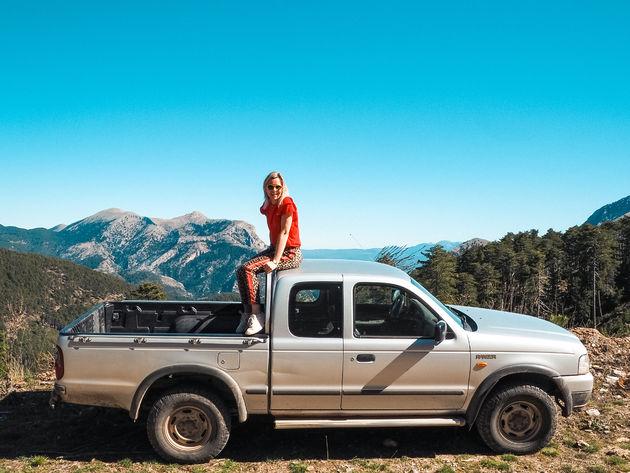 Taigetos gebergte jeepsafari