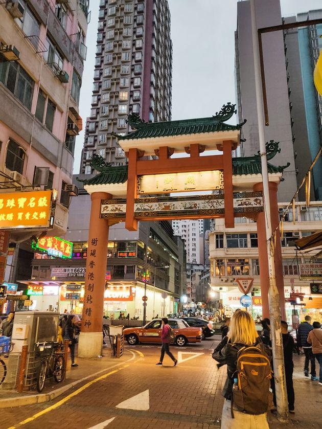 Temple Street Hongkong