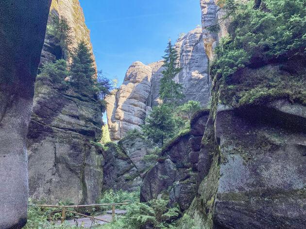 Teplické-canyon.