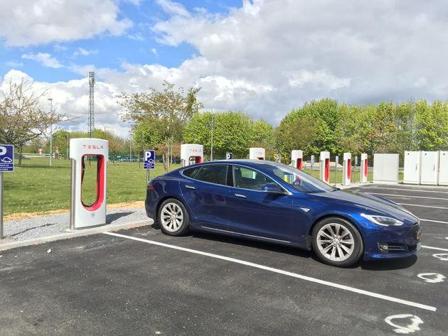 Tesla Snelladers Frankrijk