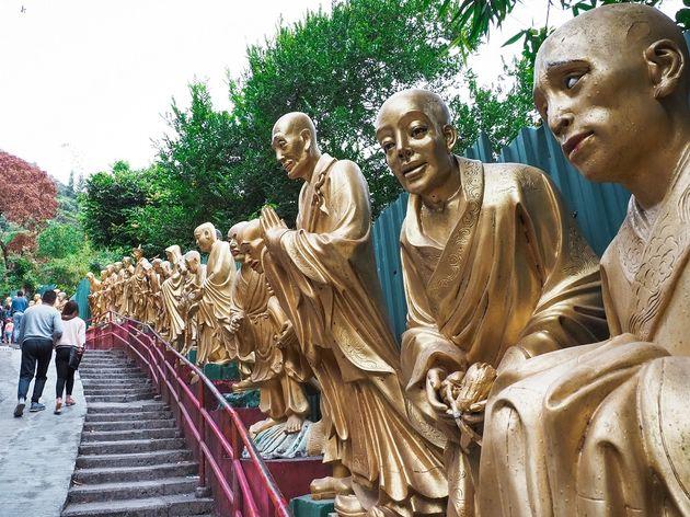 Tienduizend boeddhas Hong Kong