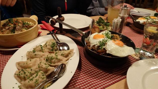Traditionele Tiroler food