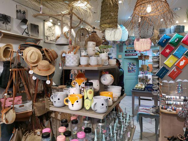Trendy winkels Saint Martin de Ré .