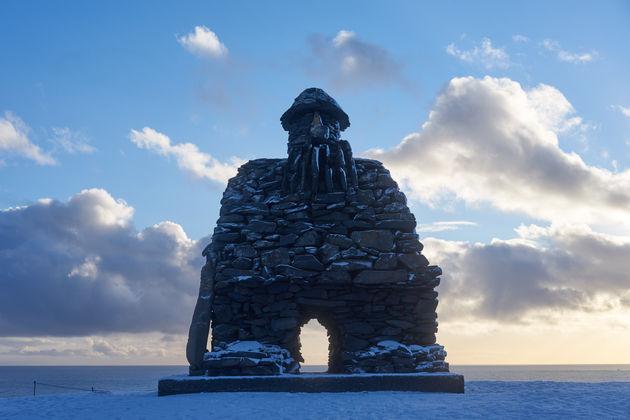 Bardar Saga in Snaefellsnes ijsland