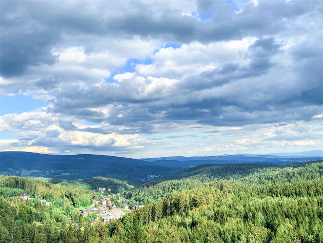 uitzicht-Boomkroonpad-tsjechie