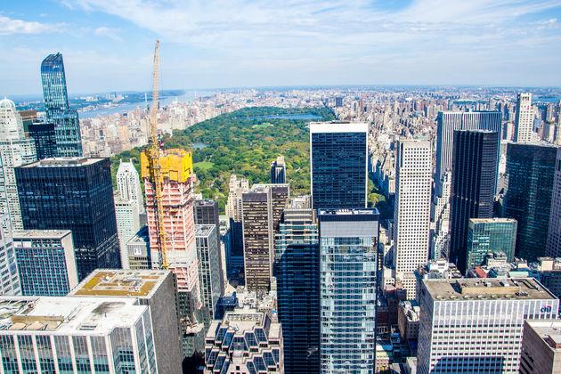 Uitzicht-Central-Park-vanaf-Rockefeller-Center