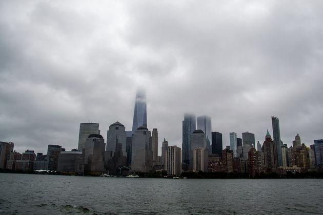 Uitzicht-Lower-Manhattan-vanaf-boot