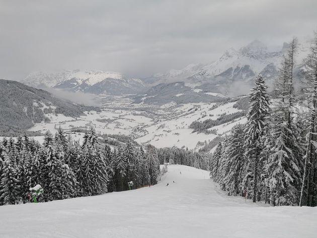 Uitzicht-skigebied-Hochkönig-ski-amade .