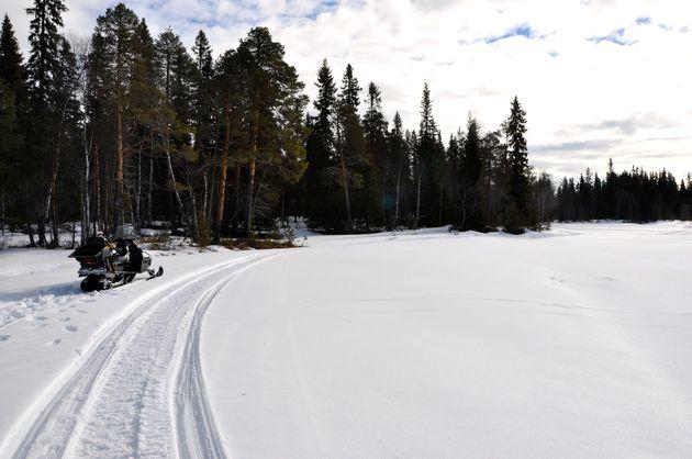 uitzicht-sneeuwscooteren