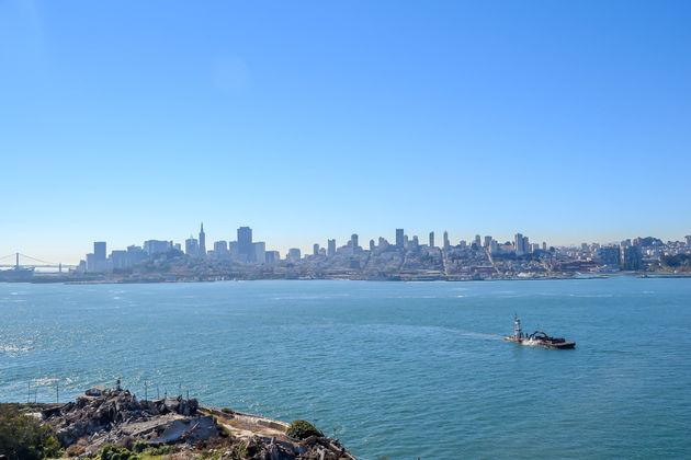Uitzicht-vanaf-alcatraz