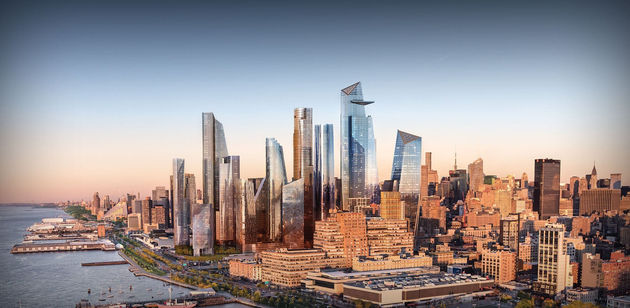 New Hudson Yards Skyline