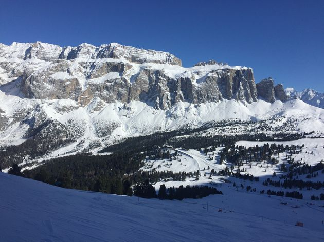Val Gardena Zuid Tirol unieke rotspartijen