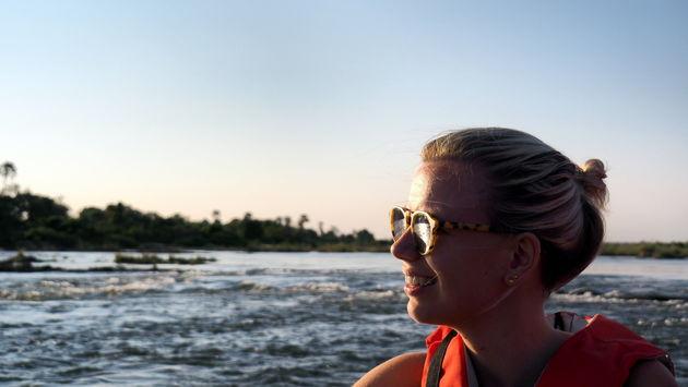 Varen Zambezi rivier