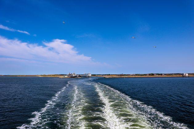 Veerboot-naar-huis