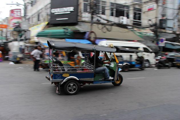 Verdwaal in een tuktuk
