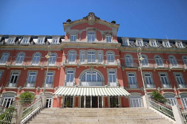 Vidago Palace Hotel entree