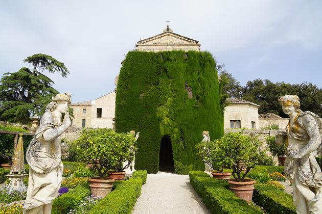 Villa Bonaccorsi_tuin