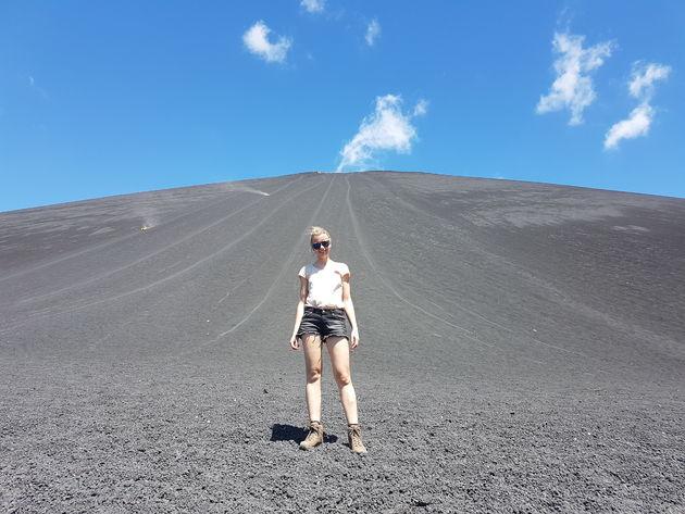 Vulkaanboarden-Cerro-Negro-vulkaan-León.