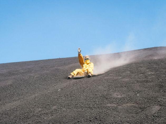 Vulkaanboarden Nicaragua