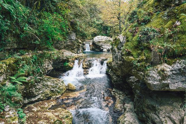 watervallen-vasteland-griekenland