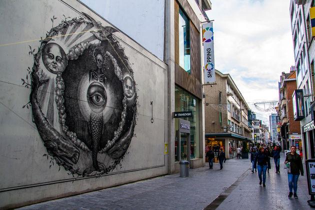 Winkelstraat Oostende