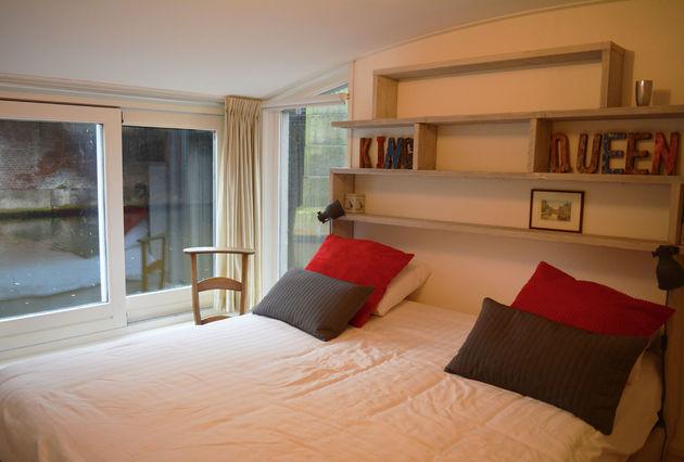 woonboot-slaapkamer