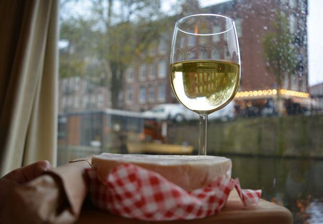 woonboot-wijn